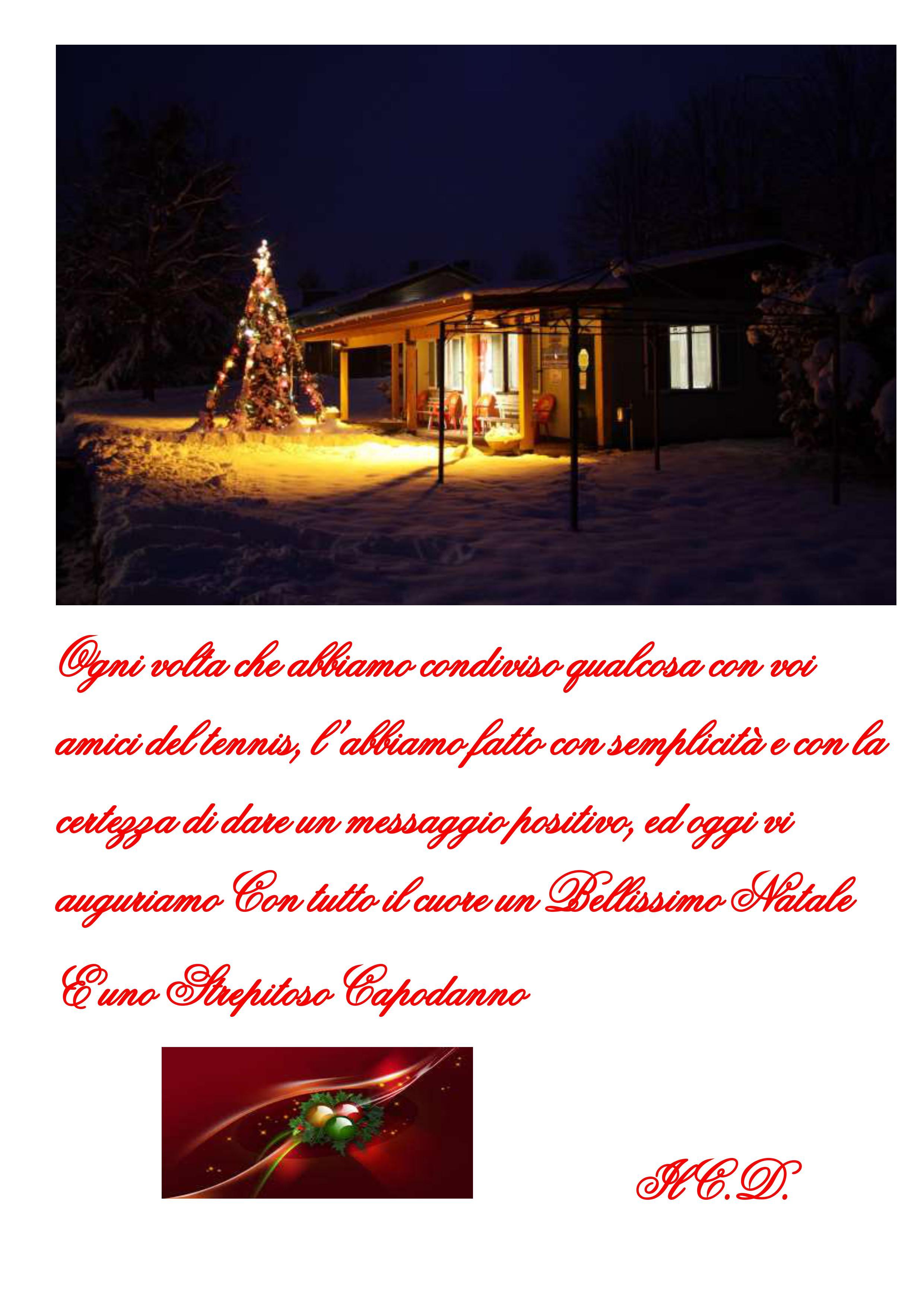 Auguri Di Natale Tennis.Auguri Di Buon Natale E Felice Anno Nuovo Asd San Colombano Tennis