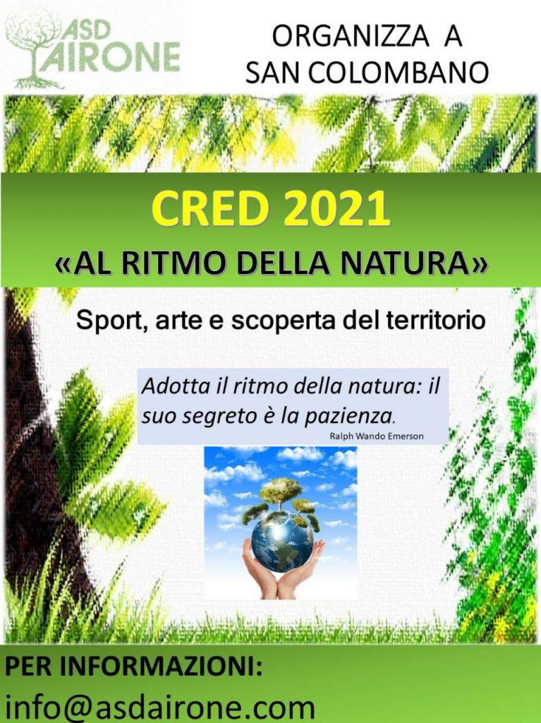 CRED 2021 – Al ritmo della natura